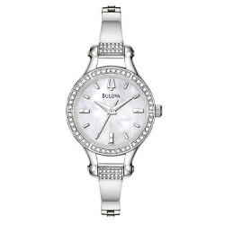 Bulova Womens Crystal 96L128 Watch