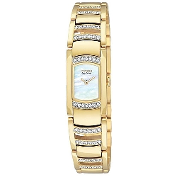 Citizen Womens Silhouette Crystal EG2732-51D Watch