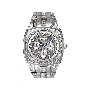 Bulova Mens Crystal 96C002 Watch
