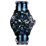 InTimes Mens Nylon IT-057NBLU Watch