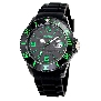 InTimes Unisex Silicon IT-057SGRN Watch