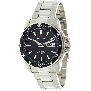 Precimax Men's Propel Automatic PX12090 Silver Stainless-Steel Automatic Watch With Black Dial