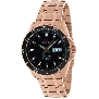 Precimax Men's Vintage Automatic PX12096 Rose-Gold Stainless-Steel Automatic Watch With Black Dial