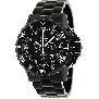 Precimax Men's Carbon Pro PX12202 Black Stainless-Steel Quartz Watch With Black Dial