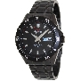 PRECIMAX Men's Vintage Automatic PX13203 Black Stainless-Steel Automatic Watch With Black Dial