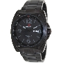 PRECIMAX Men's Fortis Automatic PX13208 Black Stainless-Steel Automatic Watch With Black Dial