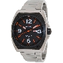 PRECIMAX Men's Fortis Automatic PX13210 Silver Stainless-Steel Automatic Watch With Black Dial