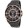 PRECIMAX Men's Stark Automatic PX13215 Black Stainless-Steel Automatic Watch With Black Dial