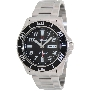 PRECIMAX Men's Aqua Classic Automatic PX13221 Silver Stainless-Steel Automatic Watch With Black Dial