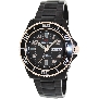 PRECIMAX Men's Aqua Classic Automatic PX13223 Black Stainless-Steel Automatic Watch With Black Dial