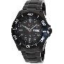 PRECIMAX Men's Aqua Classic Automatic PX13226 Black Stainless-Steel Automatic Watch With Black Dial