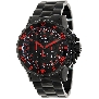 Precimax Men's Carbon Pro PX13231 Black Stainless-Steel Quartz Watch With Black Dial