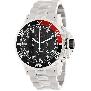 Precimax Men's Carbon Pro PX13234 Silver Stainless-Steel Quartz Watch With Black Dial