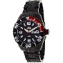 Swiss Precimax Men's Deep Blue SP12006 Black Stainless-Steel Swiss Quartz Watch With Black Dial