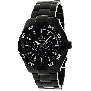 Swiss Precimax Men's Formula-7 XT SP12049 Black Stainless-Steel Swiss Multifunction Watch With Black Dial