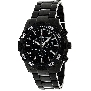 Swiss Precimax Men's Formula-7 Pro SP12061 Black Stainless-Steel Swiss Chronograph Watch With Black Dial