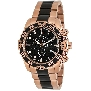 Swiss Precimax Men's Formula-7 Pro SP12063 Rose-Gold Stainless-Steel Swiss Chronograph Watch With Black Dial