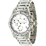 Swiss Precimax Women's Desire Elite Diamond SP12080 Silver Ceramic Swiss Quartz Watch With Mother-Of-Pearl Dial