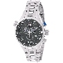 Swiss Precimax Men's Torin Pro SP12121 Silver Stainless-Steel Swiss Chronograph Watch With Black Dial