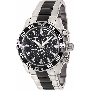 Swiss Precimax Men's Formula-7 Pro SP12149 Two-Tone Stainless-Steel Swiss Chronograph Watch With Black Dial