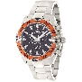 Swiss Precimax Men's Formula-7 Pro SP12150 Silver Stainless-Steel Swiss Chronograph Watch With Black Dial