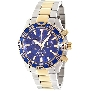 Swiss Precimax Men's Formula-7 Pro SP12154 Two-Tone Stainless-Steel Swiss Chronograph Watch With Blue Dial