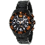 Swiss Precimax Men's Deep Blue Pro II SP12176 Black Stainless-Steel Swiss Chronograph Watch With Black Dial