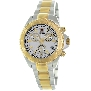 Swiss Precimax Women's Manhattan Elite SP12182 Two-Tone Stainless-Steel Swiss Chronograph Watch With Mother-Of-Pearl Dial