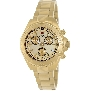Swiss Precimax Women's Manhattan Elite SP12184 Gold Stainless-Steel Swiss Chronograph Watch With Gold Dial