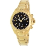 Swiss Precimax Women's Manhattan Elite SP12185 Gold Stainless-Steel Swiss Chronograph Watch With Mother-Of-Pearl Dial