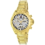 Swiss Precimax Women's Manhattan Elite SP12186 Gold Stainless-Steel Swiss Chronograph Watch With Mother-Of-Pearl Dial