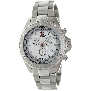 Swiss Precimax Men's Maritime Pro SP12191 Silver Stainless-Steel Swiss Chronograph Watch With Silver Dial