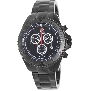 Swiss Precimax Men's Maritime Pro SP12193 Black Stainless-Steel Swiss Chronograph Watch With Black Dial