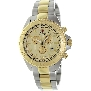 Swiss Precimax Men's Maritime Pro SP12196 Two-Tone Stainless-Steel Swiss Chronograph Watch With Gold Dial