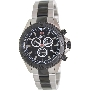 Swiss Precimax Men's Maritime Pro SP12197 Two-Tone Stainless-Steel Swiss Chronograph Watch With Black Dial