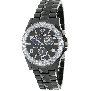 Swiss Precimax Women's Luxe Elite SP12199 Black Ceramic Swiss Chronograph Watch With Mother-Of-Pearl Dial