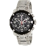 Swiss Precimax Men's Marauder Pro SP13012 Silver Stainless-Steel Swiss Chronograph Watch With Black Dial