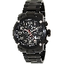 Swiss Precimax Men's Marauder Pro SP13013 Black Stainless-Steel Swiss Chronograph Watch With Black Dial