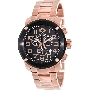 Swiss Precimax Men's Marauder Pro SP13017 Rose-Gold Stainless-Steel Swiss Chronograph Watch With Black Dial