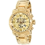 Swiss Precimax Men's Marauder Pro SP13018 Gold Stainless-Steel Swiss Chronograph Watch With Gold Dial