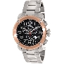 Swiss Precimax Men's Marauder Pro SP13020 Silver Stainless-Steel Swiss Chronograph Watch With Black Dial