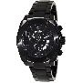 Swiss Precimax Men's Admiral Pro SP13023 Black Stainless-Steel Swiss Chronograph Watch With Black Dial