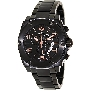 Swiss Precimax Men's Admiral Pro SP13025 Black Stainless-Steel Swiss Chronograph Watch With Black Dial