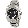 Swiss Precimax Men's Admiral Pro SP13026 Silver Stainless-Steel Swiss Chronograph Watch With Black Dial