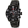 Swiss Precimax Men's Verto Pro SP13032 Black Stainless-Steel Swiss Chronograph Watch With Black Dial