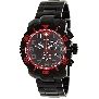 Swiss Precimax Men's Verto Pro SP13035 Black Stainless-Steel Swiss Chronograph Watch With Black Dial