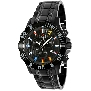 Swiss Precimax Men's Armada Pro SP13051 Black Stainless-Steel Swiss Chronograph Watch With Black Dial