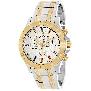 Swiss Precimax Men's Armada Pro SP13055 Two-Tone Stainless-Steel Swiss Chronograph Watch With Silver Dial
