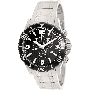 Swiss Precimax Men's Tarsis Pro SP13057 Silver Stainless-Steel Swiss Chronograph Watch With Black Dial