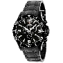 Swiss Precimax Men's Tarsis Pro SP13061 Black Stainless-Steel Swiss Chronograph Watch With Black Dial